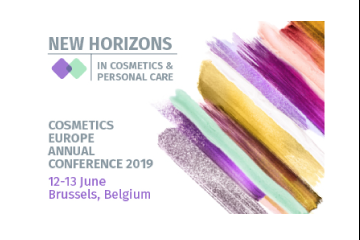 Cosmetics Europe Annual Conference 2019 - Registration is now open