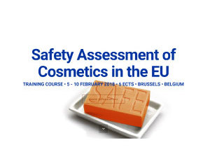 Safety Assessment of Cosmetics in the EU - training course